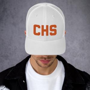 CHS Snapback Mesh Hat-Clemson Edition