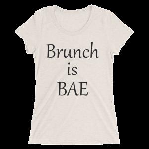 Brunch is Bae Women's T-Shirt-Dark Print