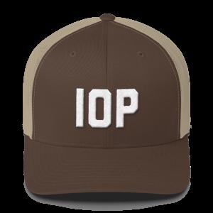 IOP Snapback Mesh Hat
