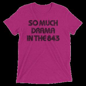 So Much Drama Men's T-Shirt-Dark Print