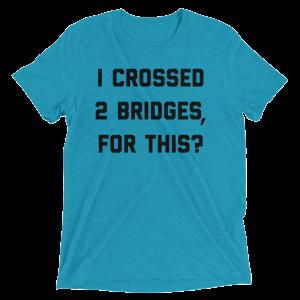 2 Bridges Men's T-shirt-Dark Print
