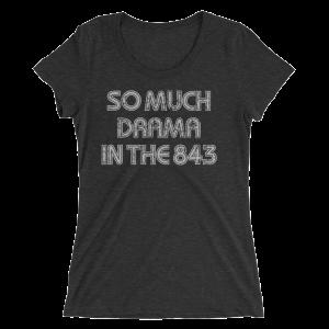 So Much Drama Women's T-Shirt-Light Print
